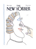 The New Yorker Cover - March 9, 1998 Premium Giclee Print by Saul Steinberg