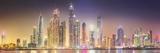 The Beauty Panorama of Dubai Marina. UAE Photographic Print by  boule1301