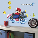 Mario Kart 8 Peel and Stick Giant Wall Decals Vinilo decorativo