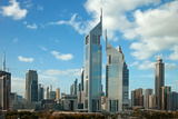 Dubai Skyline Photographic Print by  Borna_Mir