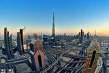 Dubai Skyline Photographic Print by  naufalmq