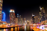 Dubai Marina by Night Photographic Print by  loya_ya