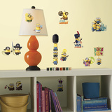 Minions The Movie Peel and Stick Wall Decals Wallstickers