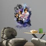 Star Wars Classic Mega Peel and Stick Giant Wall Decals Kalkomania ścienna