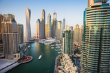 Dubai Marina. UAE Photographic Print by Oleg Zhukov