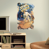 Star Wars Retro Mega Peel and Stick Giant Wall Decals Adesivo de parede
