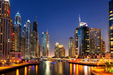 Dubai Marina Photographic Print by  SAKhanPhotography