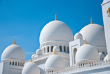 Abu Dhabi White Sheikh Zayed Mosque Photographic Print by  loya_ya