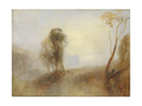 Sunrise, a Castle on a Bay: 'Solitude' Giclee Print by Joseph Mallord William Turner