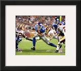 New York Giants - Tiki Barber Photo Framed Photographic Print
