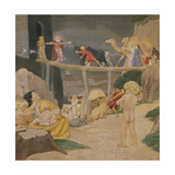 Noah's Ark Giclee Print by Margaret Gere