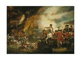 The Siege and Relief of Gibraltar, 13 September 1782 Giclee Print by John Singleton Copley