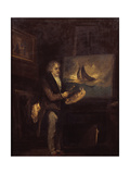 Portrait of J.M.W. Turner, R.A. Giclee Print by John Thomas Smith