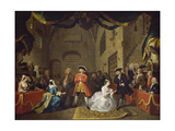 A Scene from The Beggar's Opera VI Giclee Print by William Hogarth