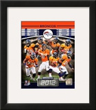 Denver Broncos 2012 Team Composite Framed Photographic Print