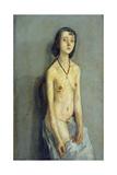 Nude Girl Giclee Print by Gwen John