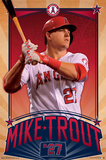 Los Angeles Angels - M Trout 15 Posters