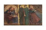 Paolo and Francesca Da Rimini Giclee Print by Dante Gabriel Rossetti