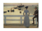 The Bridge Giclee Print by Philip Wilson Steer