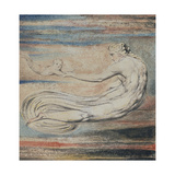 Urizen, Plate 2 of Urizen: Teach These Souls to Fly Giclee Print by William Blake