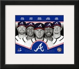Atlanta Braves 2013 Team Composite Framed Photographic Print
