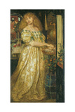 Lucrezia Borgia Giclee Print by Dante Gabriel Rossetti