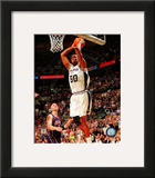 David Robinson Game 2 of the 2003 NBA Finals Action Framed Photographic Print