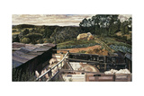 Rickett's Farm, Cookham Dene Giclee Print by Stanley Spencer