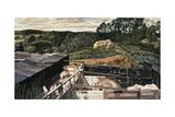 Rickett's Farm, Cookham Dene Lámina giclée por Stanley Spencer