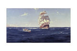 Off Valparaiso Giclee Print by Thomas J. Somerscales