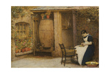 The Housewife Giclee Print by Frederick Walker