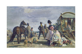 Epsom Downs - City and Suburban Day Giclee Print by Sir Alfred Munnings