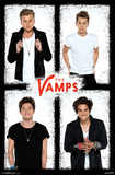 The Vamps - White Posters