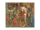 The Tune of the Seven Towers Giclee Print by Dante Gabriel Rossetti
