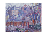 From a Window in Cambrian Road, Richmond Giclee Print by Spencer Gore