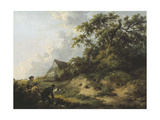 Rabbiting Giclee Print by George Morland