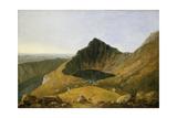 Llyn-Y-Cau, Cader Idris Giclee Print by Richard Wilson