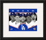 Los Angeles Dodgers 2013 Team Composite Framed Photographic Print