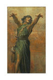 Jonah Giclee Print by George Frederic Watts