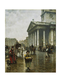 St Martin-In-The-Fields Giclee Print by William Logsdail