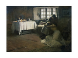 A Hopeless Dawn Impression giclée par Frank Bramley