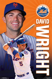 New York Mets - D Wright 15 Posters
