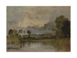 The Thames Near Windsor Giclee Print by Joseph Mallord William Turner