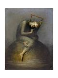 Esperanza Lámina giclée por George Frederic Watts