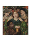 The Beloved (The Bride) Giclee Print by Dante Gabriel Rossetti