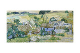 Farms Near Auvers Giclee Print by Vincent van Gogh