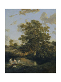 The Poringland Oak Giclee Print by John Crome