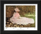 The Reader Print by Claude Monet