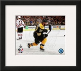 Patrice Bergeron Goal Celebration Game 3 of the 2013 Stanley Cup Finals Framed Photographic Print