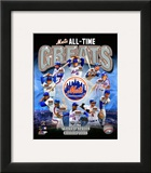 New York Mets All Time Greats Composite Framed Photographic Print